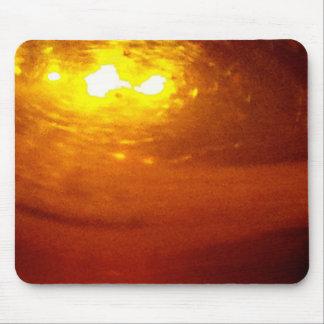 Liquid Copper Sunrise - sleek Mousepad