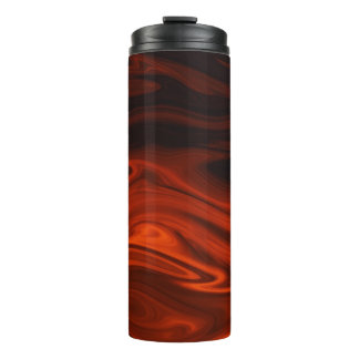 Liquid Fire by Shirley Taylor Thermal Tumbler