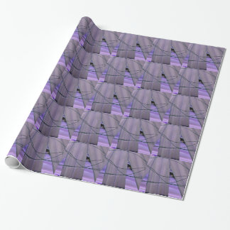 liquid foliage wrapping paper