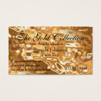 Liquid Gold Business Card