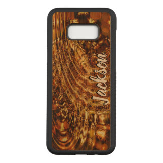 Liquid Gold Carved Samsung Galaxy S8+ Case