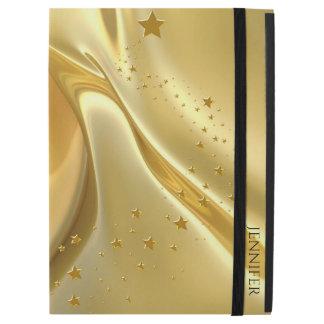 Liquid Gold iPad Pro Folio Case