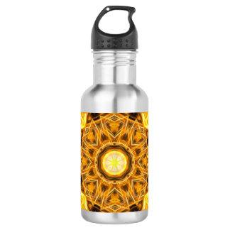 Liquid Gold Mandala 532 Ml Water Bottle