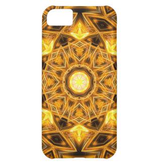 Liquid Gold Mandala Cover For iPhone 5C