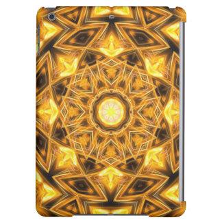 Liquid Gold Mandala iPad Air Cover