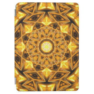 Liquid Gold Mandala iPad Air Cover