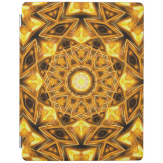 Liquid Gold Mandala iPad Cover