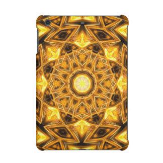 Liquid Gold Mandala iPad Mini Retina Cases