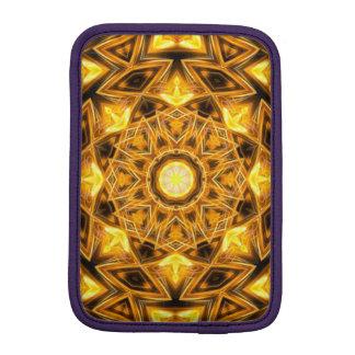 Liquid Gold Mandala iPad Mini Sleeve
