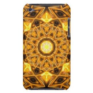 Liquid Gold Mandala iPod Touch Covers