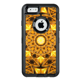 Liquid Gold Mandala OtterBox Defender iPhone Case