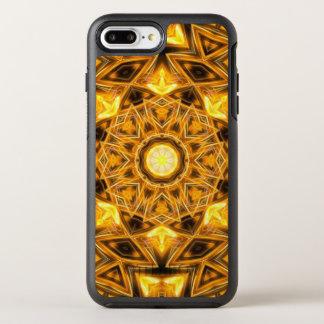 Liquid Gold Mandala OtterBox Symmetry iPhone 7 Plus Case