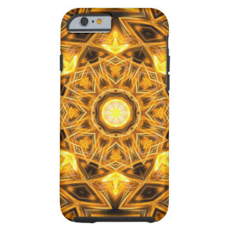 Liquid Gold Mandala Tough iPhone 6 Case
