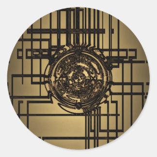 Liquid Gold (Monotone) Sticker