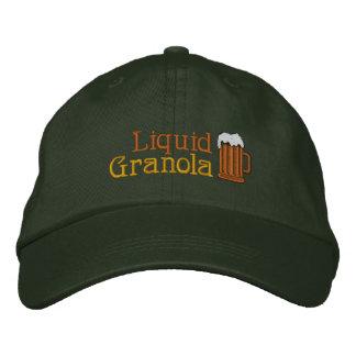Liquid Granola - Beer! Embroidered Hat