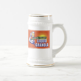 Liquid Granola, Nectar of the Gods 18 Oz Beer Stein