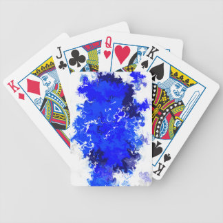 Liquid Ink Bicycle Playing Cards