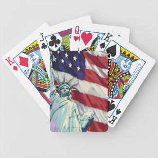 Liquid Library 4 Bicycle Playing Cards