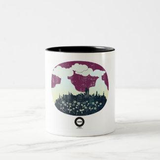 Liquid media Two-Tone coffee mug