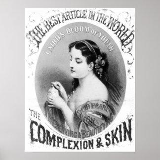 Liquid Pearl Soap Vintage Poster