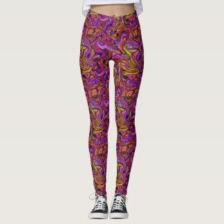 Liquid Purple Leggings