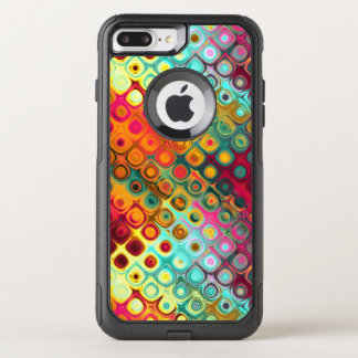 Liquid Rainbow Dots OtterBox Commuter iPhone 8 Plus/7 Plus Case