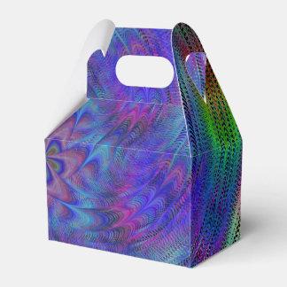 Liquid rainbow party favor box