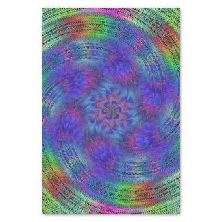 Liquid rainbow tissue paper
