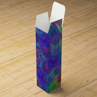 Liquid rainbow wine gift box