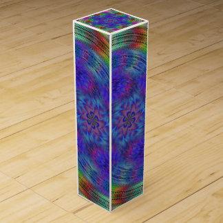 Liquid rainbow wine gift boxes