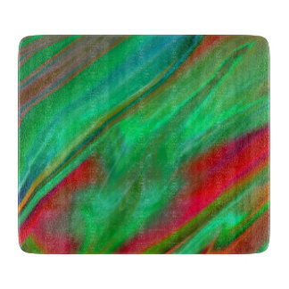 Liquid Silk Colour Flow Cutting Board