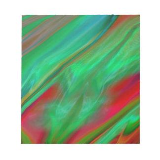 Liquid Silk Colour Flow Notepad