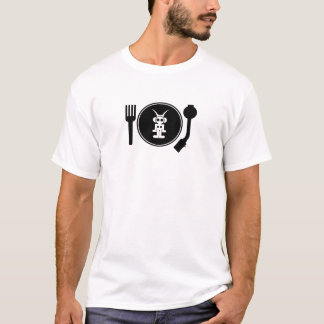 Liquid Sky Music  PLATE LOGO T-Shirt