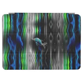 Liquid Vibrations Dolphin Neon iPad Pro Cover