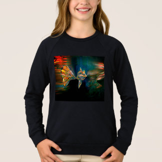 Liquid Vibrations Funky Fish Sweatshirt