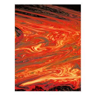 Liquid Volcanic Fire (1) Postcard