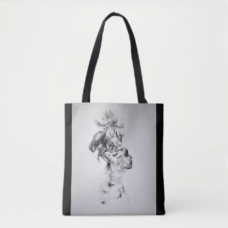 Liquid Woman Tote Bag