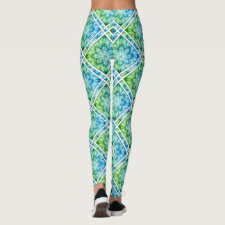 Liquidartz Ribbon Diamond Kaleidoscope Leggings