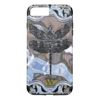 Liquid's Black Dragon  Monogram iPhone 8 Plus/7 Plus Case