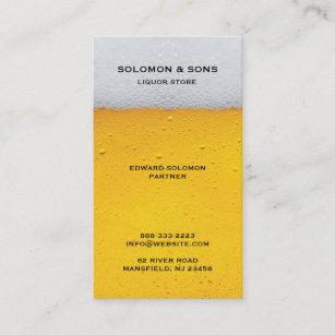 Liquor store business cards profile cards zazzle ca liquor beer store business card colourmoves