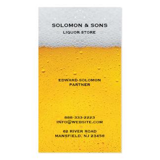 Liquor Beer Store Business Card