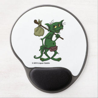 Liquor Goblin Round Mousepad Gel Mouse Pad
