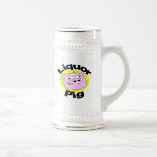 Liquor pig Stein