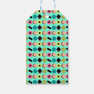 Liquorice Mix Pack Of Gift Tags