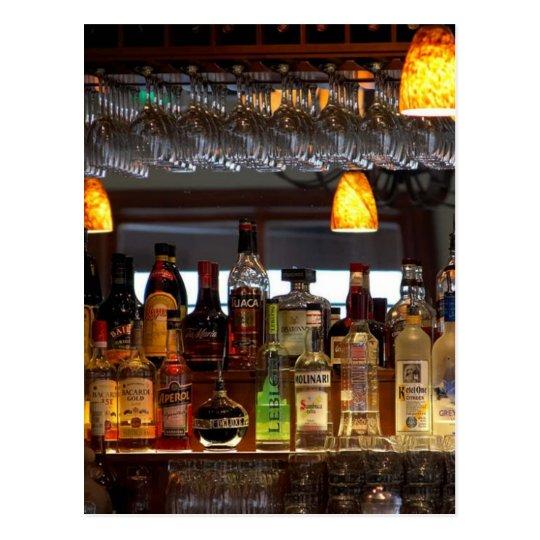 Liquors Bars Postcard
