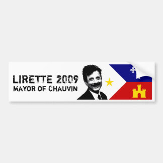 LIRETTE 2009 BUMPER STICKER