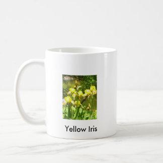 L'iris jaune 2 a dégrossi tasse