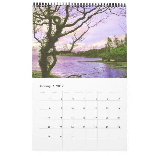 L'Irlandais fait du jardinage le calendrier 2011
