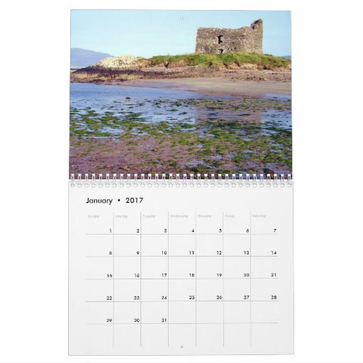 L'Irlande 2010 châteaux dans le calendrier d'Eire