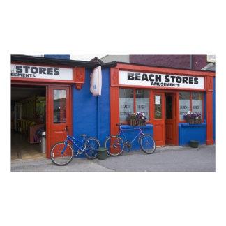 L'Irlande, Strandhill. Devanture de magasin avec d Photos Sur Toile